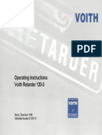 Transmissão Voith Retarder 120-3 57 Pag.