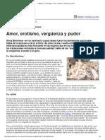 Página_12 __ Psicología __ Amor, Erotismo, Vergüenza y Pudor