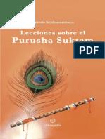Krishnamacharya Ekkirala - Lecciones Sobre El Purusha Suktam