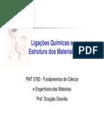 02 Ciencia Dos Materiais_Ligacao Quimica e Estrutura