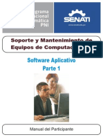 Software Aplicativo - Parte1