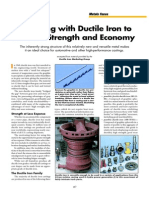 Designing With Ductile Iron