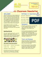 moore newsletter