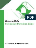Foreclosure Guidebook