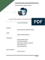 Clasificacion de Estanques y Jaulas Según Sistemas de Cultivo