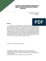 Simulação Do Processo de Fundição Port