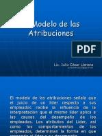 El Modelo de Las Atribuciones