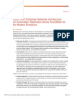 Cisco_Enterprise Networks Architecture Whitepaper