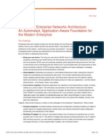 Cisco_Enterprise Networks Architecture Whitepaper