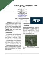 TEL-2 Comunicaciones Rurales Proyecto 2