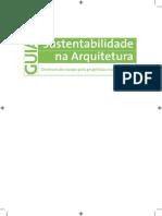 Guia de Sustentabilidade Em Arquitetura