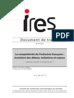 DdT04.2013Competitividad Industria Francesa