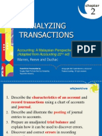 PP for Chapter 2 - Analyzing Transactions - Final