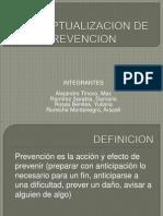 Conceptualizacion de Prevencion