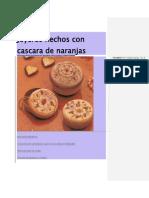 Cajitas Hechas Con Casacras de Naranja