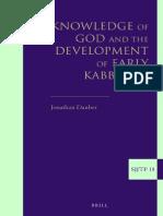 Development of Early Kabbalah