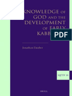 Development of Early Kabbalah
