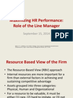 Maximizing HR Performance