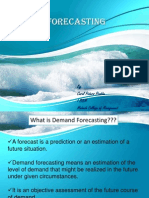 Demand Forecasting Objectives