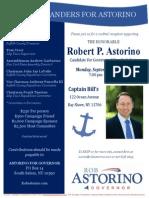 Cocktail Reception for Robert P. Astorino