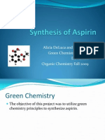 Synthesis of Aspirin Ppt