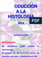 HISTOLOGIA INTRODUCCION 2014.pptx