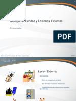 Prim Aux Iny - 2012 I - 04 - Heridas y Lesiones Externas01 - Dra.mendoza