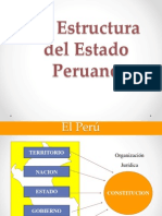 Estructura Del Estado Peruano