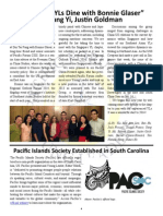 Pacific Islands Society Established in South Carolina