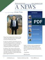 SBA Newsletter 2 - 9/15/14