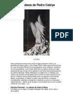 La Cabeza de Pedro Cabiya La Cabeza PDF 38k
