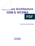 Summary Architecture GSM & WCDMA