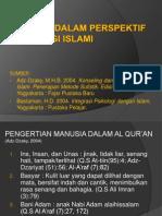 Psikologi Islami Manusia Dalam Perspektif Psikologi Islami