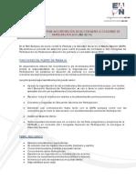 Oferta Comisaría Congreso Participación 2010