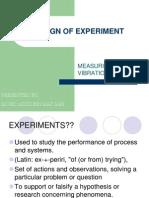 Design of Experiment
