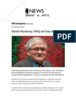 Hockney on Modern Art