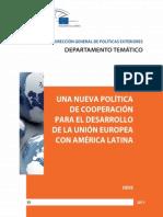 Una Nueva Politica de Cooperacion Para El Desarrollo de La Union Europea Con America Latina