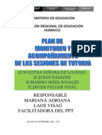Plan de Monitoreo Ppt