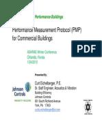 Performancemeasurementprotocols Comm Bldgs