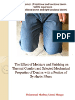Defence of PhD Work Related to Functional Denim