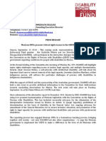 Press Release Mexico CRPD Comm