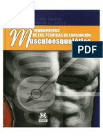 Palmer - Fundamento de Las Técnicas de Evaluación Musculoesquelética - Palmer Epler