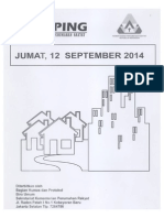 Kliping Berita Perumahan Rakykat, 12 September 2014