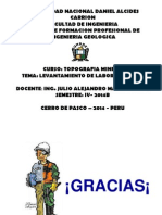Diap. de Top. Min. (5ta Clase Lev. Labores Mineras)-2014B