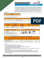 HT-036 Ferrocord U Ed. 07