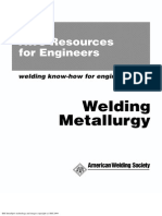 AWS Welding Metallurgy
