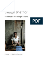 Sustainable Weaving Centres Design Brief