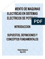 Modelamiento de Maquinas Electricas i