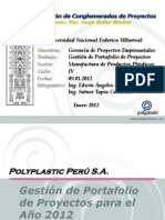Project Portfolio Management for Polyplastic - PARCIAL