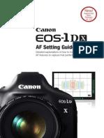 AF Guide EOS 1DX Firmware v.2.0 CUSA